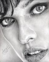 Milla Jovovich by Anthony-Woods