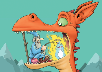 Marshmallows: Wizard and Dragon by Markside