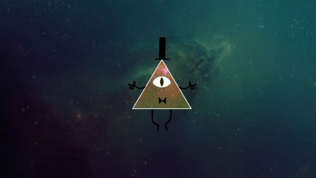 Bill Cipher Wallpaper by PolyTronik