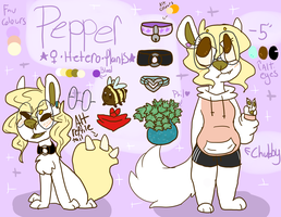 Pepper Ref by OrangeJuicee