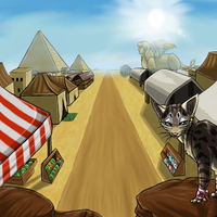 Desert Area Day by InuMimi