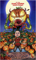 It's the Great Pumpkin Charlie Brown by thecalgee
