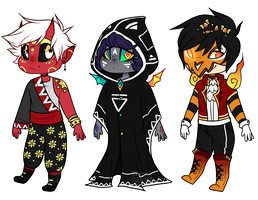 Spoopy Kiddo Adopts | CLOSED by catOrbs