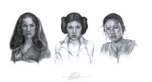 Women of Star Wars by MollyThomas