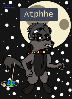 Atphhe The Weremouse by GabbyWabbyTheCat