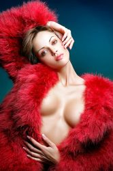 Red plum by abclic