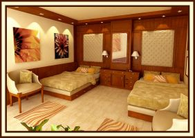 Yacht 2 - junior room by sieliss