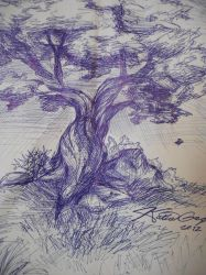 A tree by Katia-Gagne