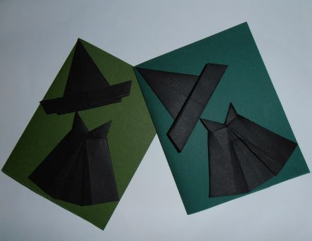 Wicked Witch Cards by Lala-lana