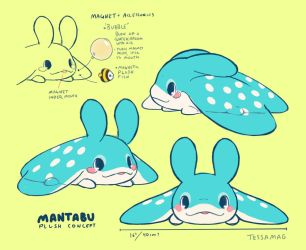 Mantabu plush concept by tessary