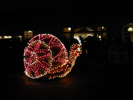 Main Street Electrical Parade: Snail 2 by FlowerPhantom