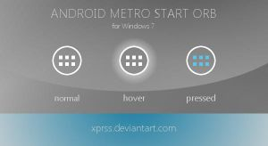 Android Metro Start orb [v2] - for Windows 7 by XprSS