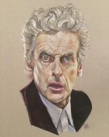 Doctor Who - Peter Capaldi  by Futurenoir