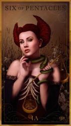 Six of Pentacles | Envy/Charity by SoyUnPeredor