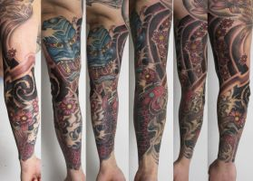 asian style arm project by graynd