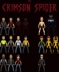 The Crimson Spider TV series by SpiderTrekfan616