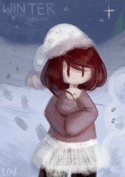 Winter Child. by LoulabeIIe
