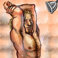 Varric Shower Fun by PayRoo