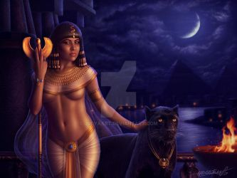 Cleopatra... by JulyaArt