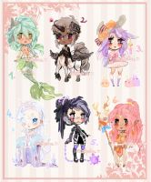 ChibiAdopts-20: CLOSED by mostlyniceAdopts