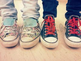 Converse Buddies by ArtistKM