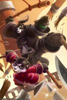 Warcraft - Quest for Pandaria #2 by SamwiseDidier