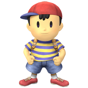 Ness Clear SSBB by StarstormPK