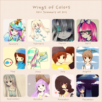 Art Summary Meme 2011 by WingsofColors