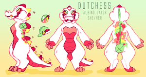 Duchess the gator!!! by Mackoolzie