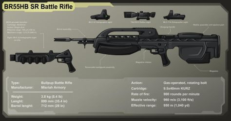 The Battle rifle by Darbaras