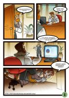 Cindy and the Boss COMIC PAGE 6 by fiftyshadeofgag