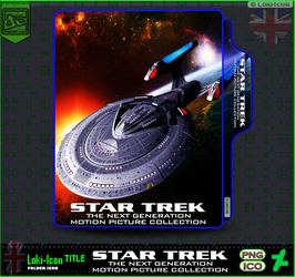 Star Trek The Next Generation Collection1 by Loki-Icon