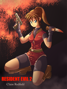 Claire Redlfied RE2 by AlbertoV
