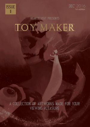 Hearth Visit Issue 2, Toy Maker (Front Cover) by JackSephton