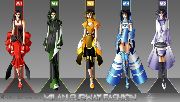 Milan Subway Fashion by Neko-Vi