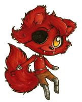 FNAF chibis 1: Foxy by Forunth