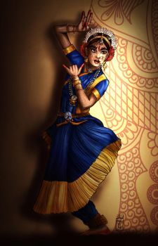 Indian Dancer by Hayele