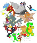 Banjo-Tooie Bosses by VGAfanatic