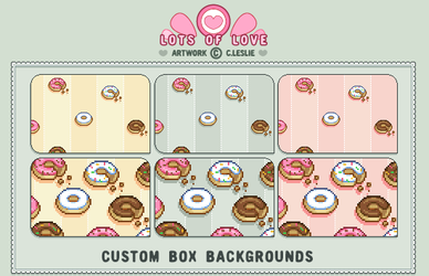 CBox BG - Donut Lover by firstfear