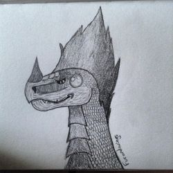 Stradus the real dragon by thisistheonlyme