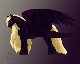 I call him Lord Purple and he is my ruler. by thepangolin