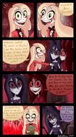 OC Comic-Arrival Pt3 by SisterStories
