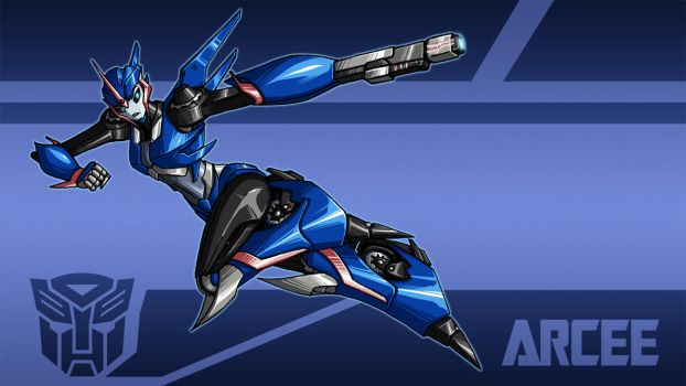 TFP-Arcee wallpaper by crovirus
