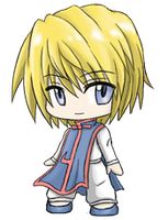 Hunter x Hunter: Kurapika by SilverHyena