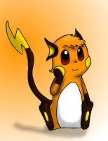 Raichu (custom version) by ICEDRAGON164