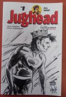 Jughead as Captain Hero sketch cover NYCC2015 by RobertHack