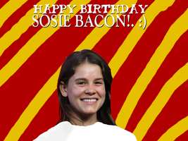 Happy Birthday Sosie Bacon! by Nolan2001