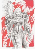 sister of battle warhammer 40k by Salvador-Bathory