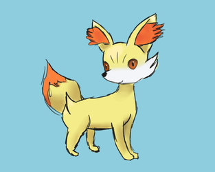 Fennekin by catas123