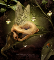 Forest Fae by EnchantedWhispersArt